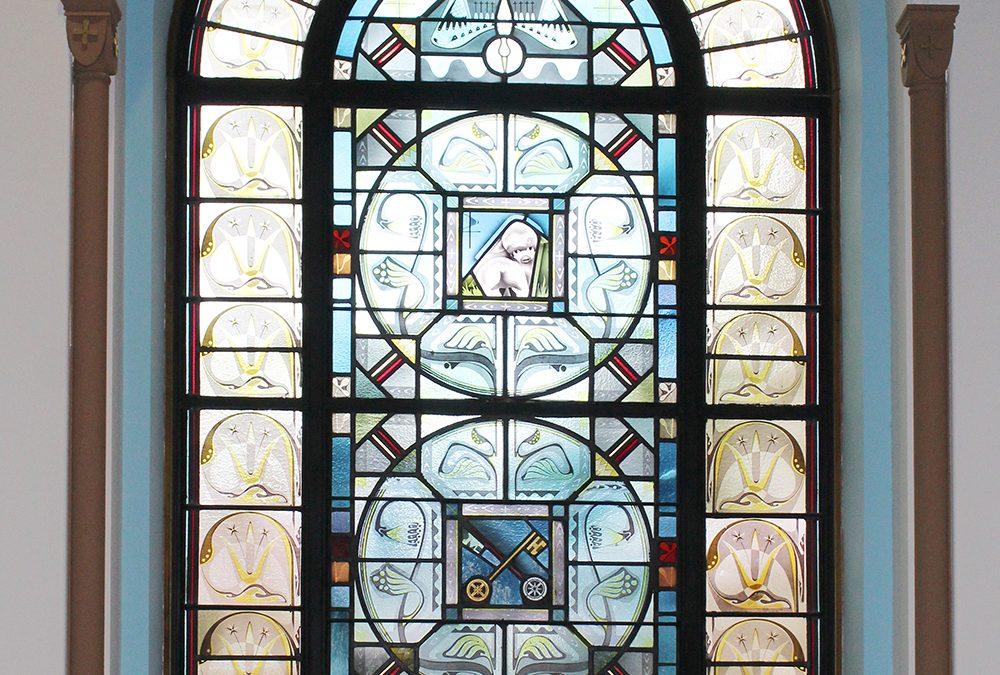 9 Windows in Mother Margaret Hall Chapel