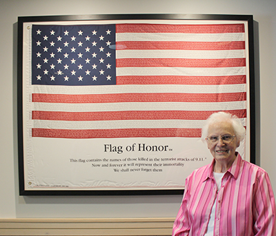 Flag of Honor Gifted to Delhi Township