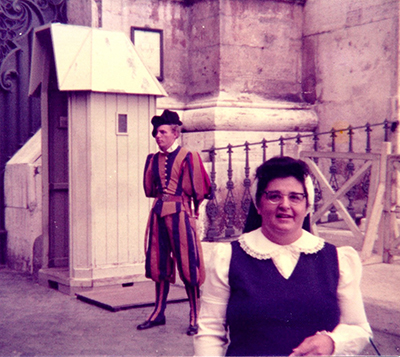 Thank You, Mother Seton: S. Margaret Marie Anthony Reflects on Her Rome Pilgrimage