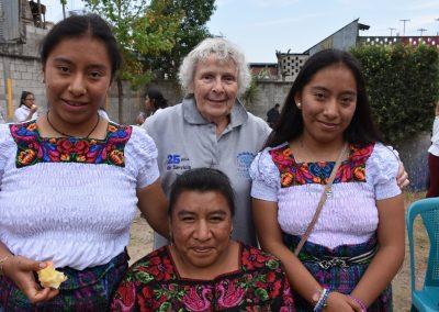 Sarah Mulligan in Guatemala