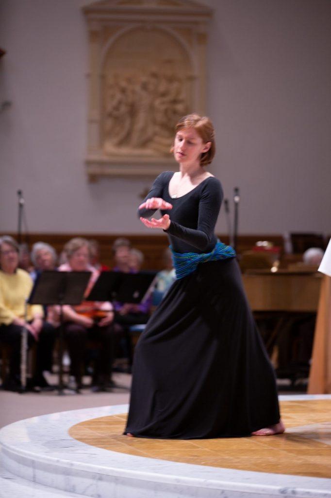 Annie liturgical dance