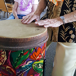 The Heartbeat of the Earth: The Drum Circle of the Sisters of Charity