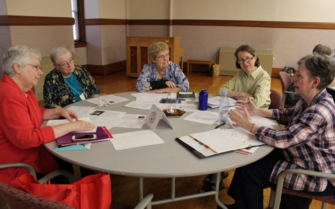 Region VI Meets at Motherhouse