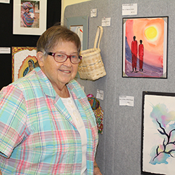 Mother Margaret Hall Art Show on Display