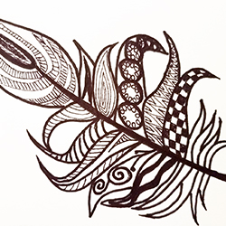 Vocation in Avocation: Zentangle