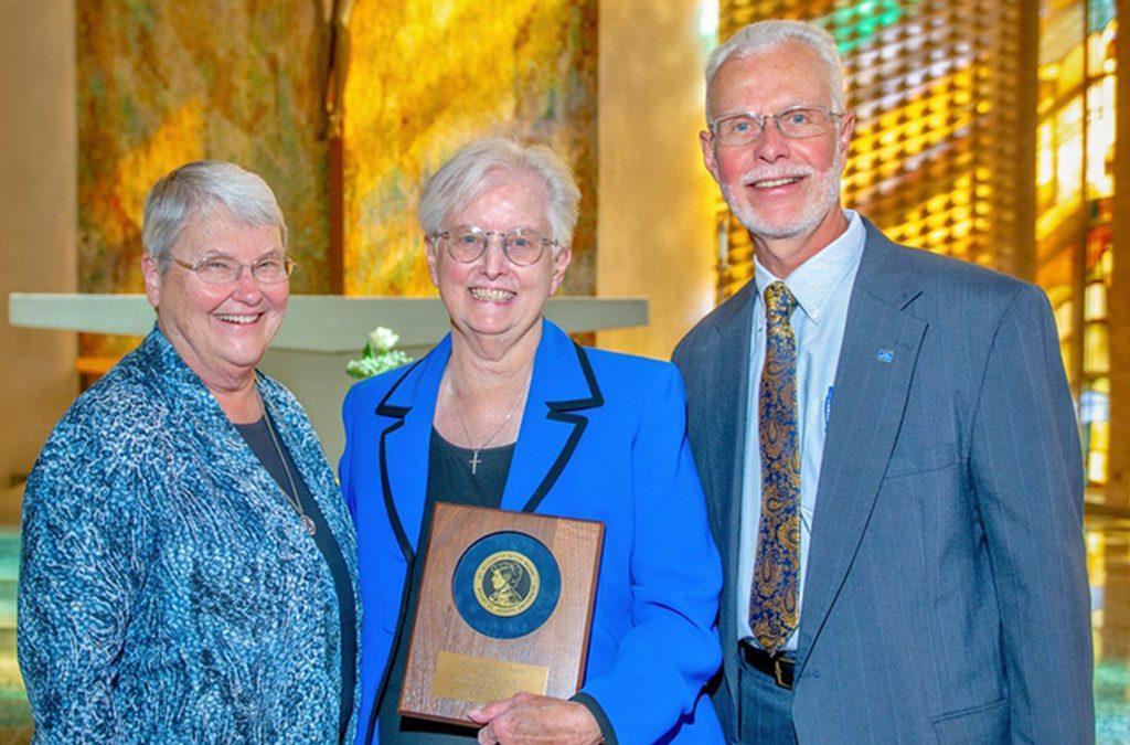 S. Judith Metz Receives St. Elizabeth Seton Medal Award