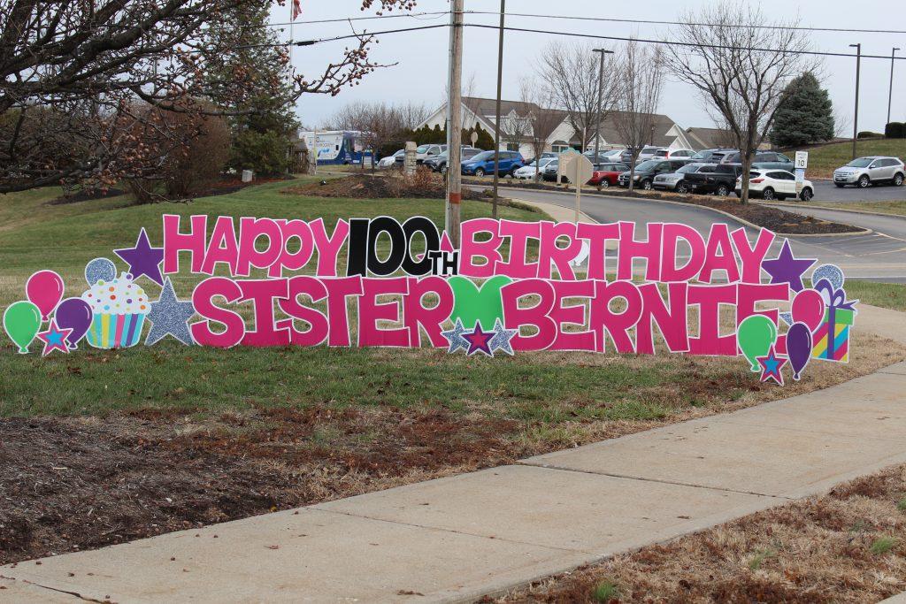 Happy Birthday Bernadette