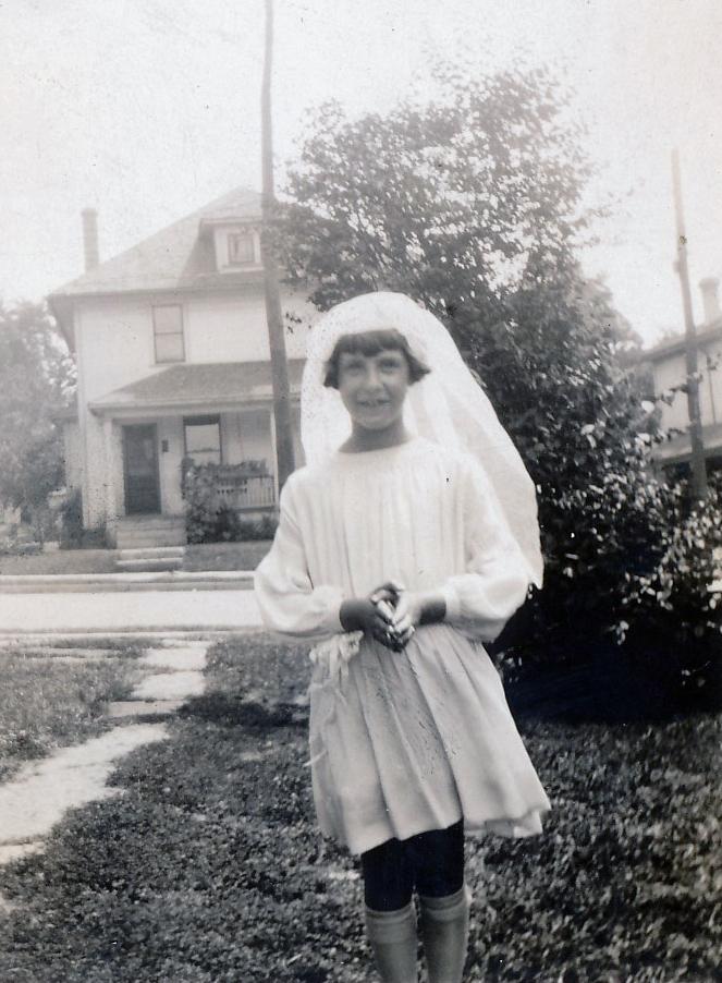 Bernadette Kameitz First Communion