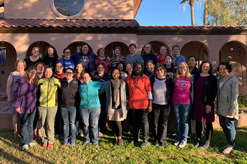 Giving Voice Hosts 20s and 30s Retreat