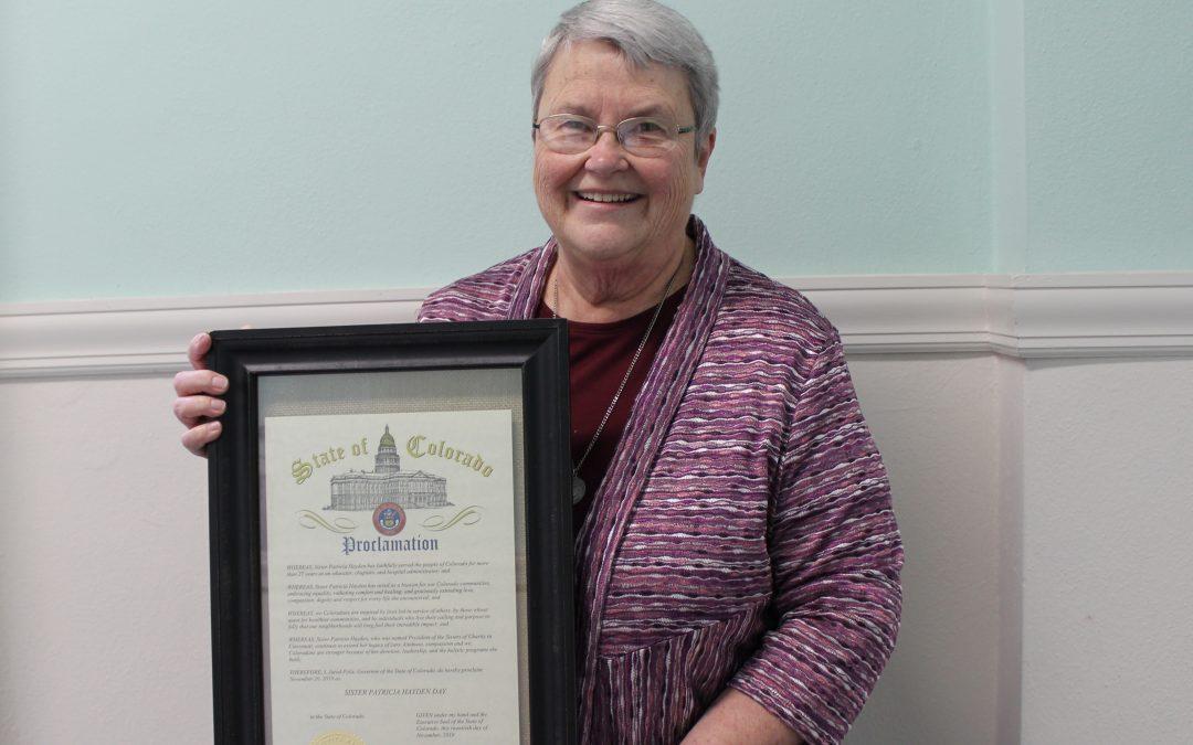 S. Patricia Hayden Honored