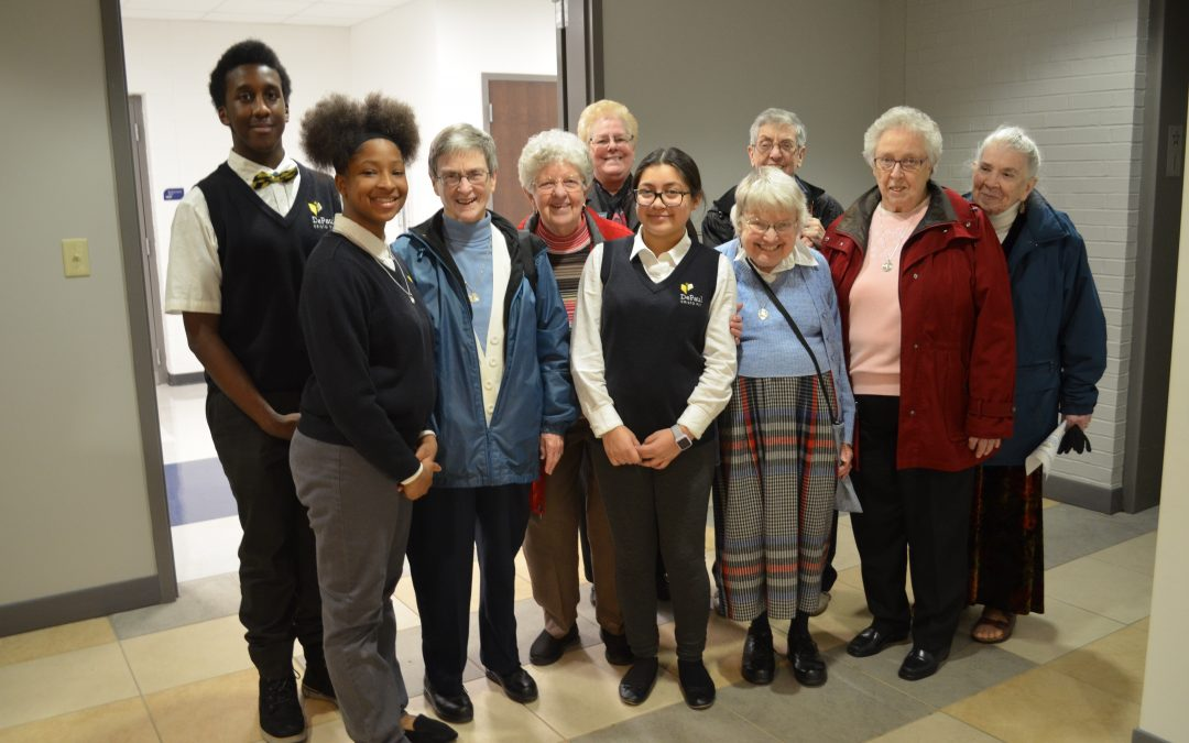 DPCR Hosts Sisters for Tour and Tea
