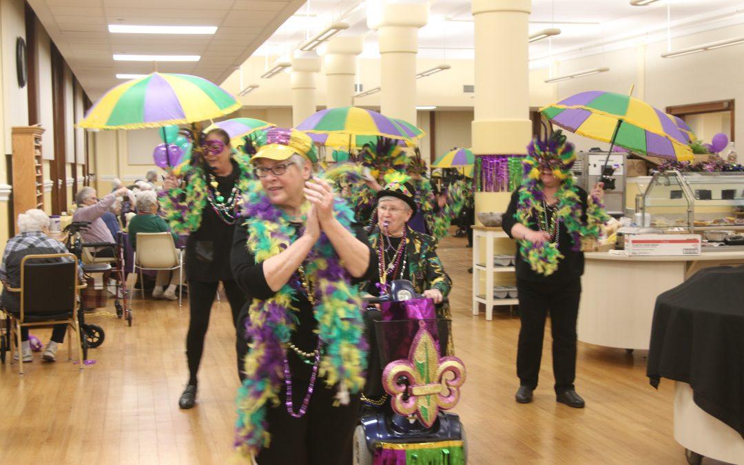 Community Celebrates Mardi Gras