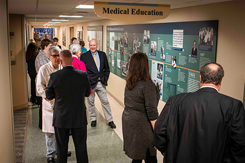 Good Samaritan Hospital Celebrates History With Wall Displays