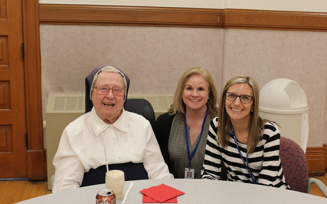 Employees Celebrate Sisters, CSW