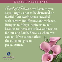 Lenten Peace Path