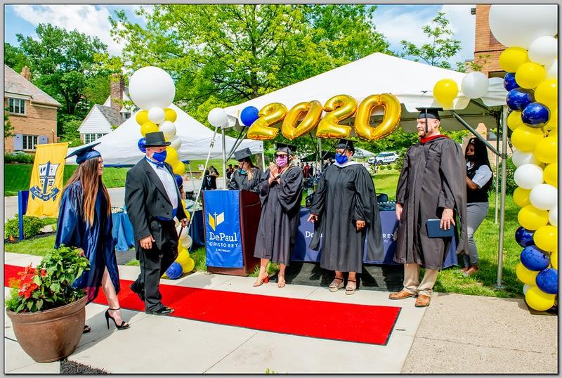 Congratulations DePaul Cristo Rey High School Graduates