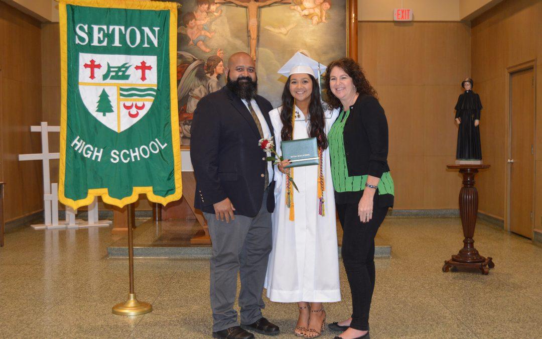 Congratulations Seton High School Graduates