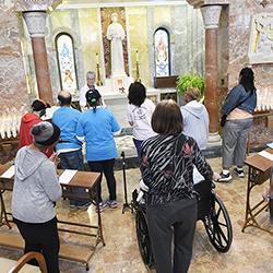 Ministry at the Shrine of St. Elizabeth Seton