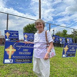 Saying Goodbye: S. Juliette Sabo Retires from Resurrection School