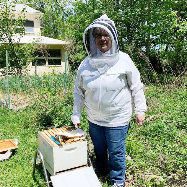 EarthConnection Reaps Benefits of Honey Bee Hive
