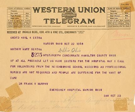 western union telegram
