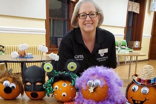 CURA Celebrates Halloween at the Motherhouse