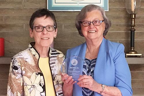 Sisters of Charity of Cincinnati Bestow EAS Award