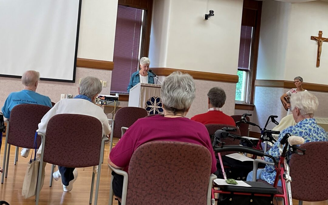Spirituality Center Welcomes Sisters for July Retreat