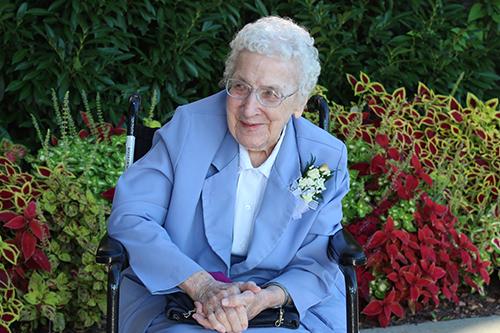 S. Mary Loyola Mathia Celebrates 100th Birthday