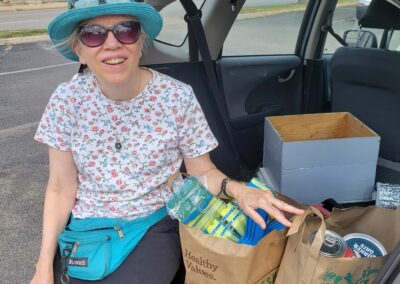 Sisters of Charity of Cincinnati soup and shampoo collection, EarthConnection (Cincinnati).